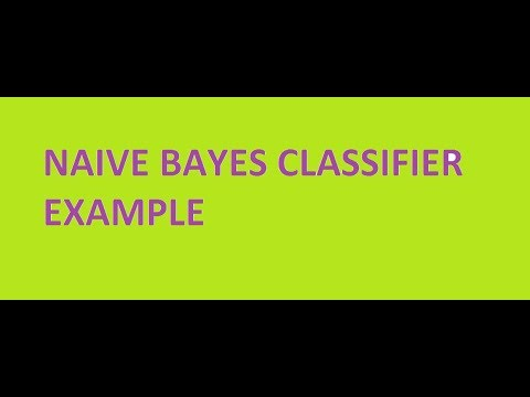 naive bayes classfier data mining example explained!
