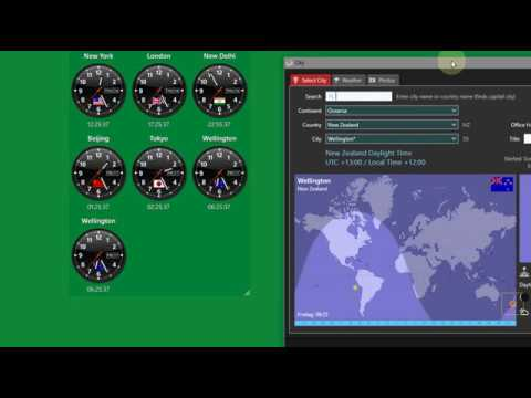 Sharp World Clock Free Download