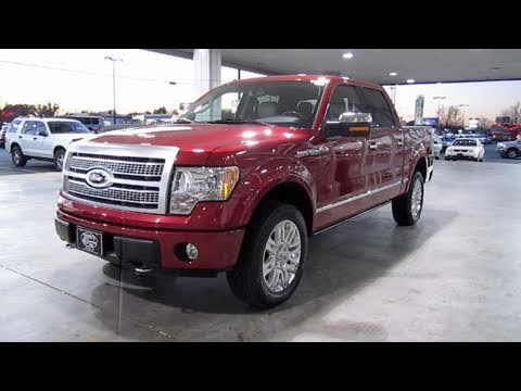 2010 ford f150 platinum start up, engine, and in depth tour - youtube