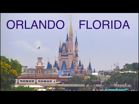Orlando, Florida HD -Magic Kingdom,Universal,Epcot,Canaveral,Disney Hollywood...