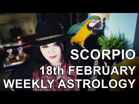 scorpio weekly horoscope 18 february 2020 by michele knight