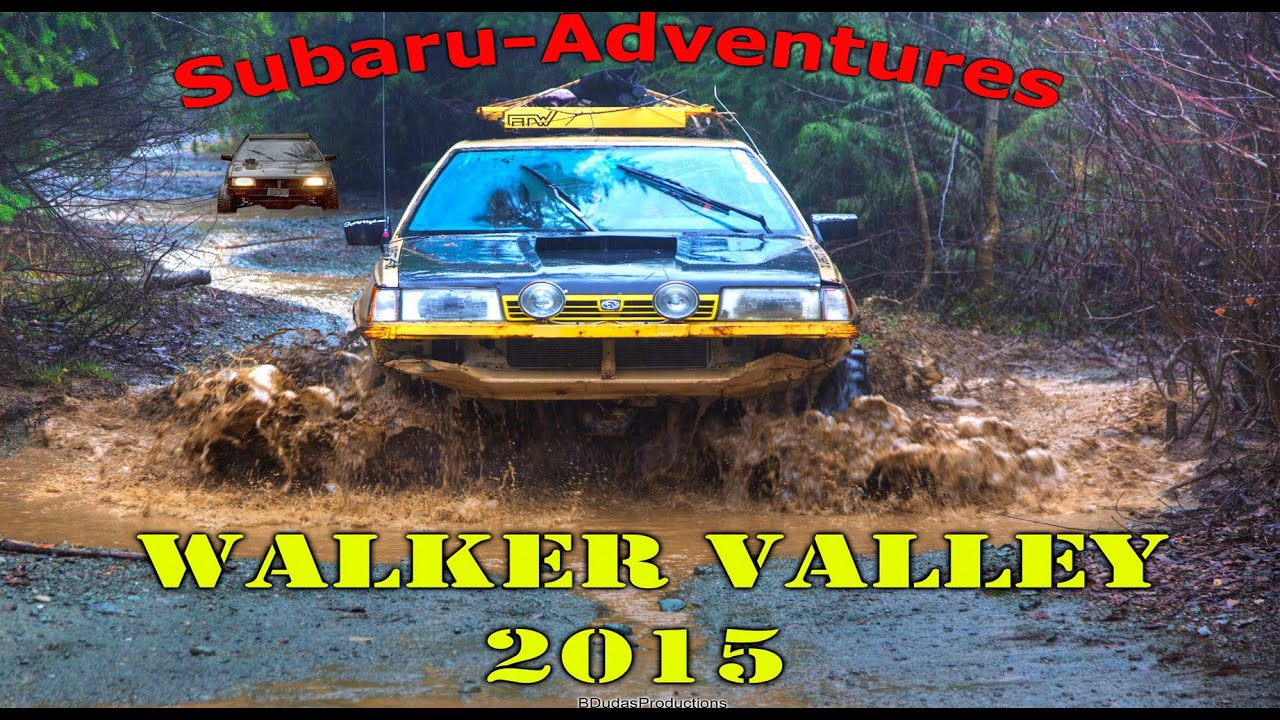 Subaru Adventures Walker Valley Offroad Park 2015 Youtube