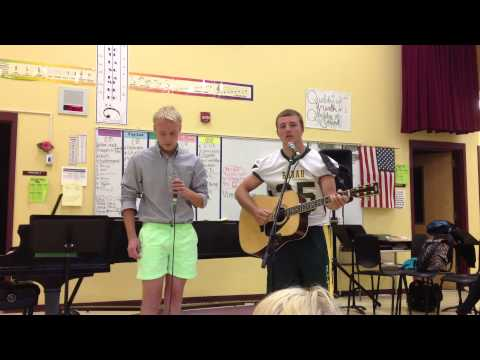 The Boxer- Simon and Garfunkel (In style of Mumford and Sons) Kaige Hawker and Thomas Metzger