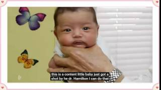 20151109 Dr  Hamilton Demonstrates The Hold   How To Calm A Crying Baby Ep 2