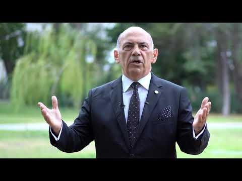 TİDE Kurucu Ve Onursal Başkanı Ali Kamil Uzun'un 25. Yıl Mesajı - YouTube