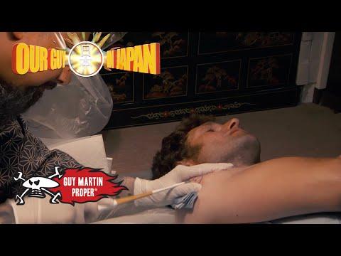Guy visits a Yakuza Tattoo Parlour   Guy Martin Proper