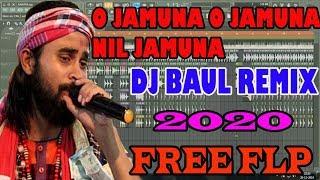 o jamuna o jamuna nil jamuna Dj Remix ( নীল যমুনা )- Dj Baul Remix 2020 Kaushik Adhikari -free flp