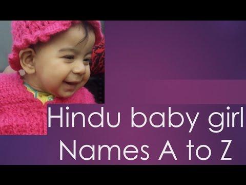 A to Z हिन्दू बेबी गर्ल चाइल्ड नाम | Modern Indian Baby Girl Names  Suggestion