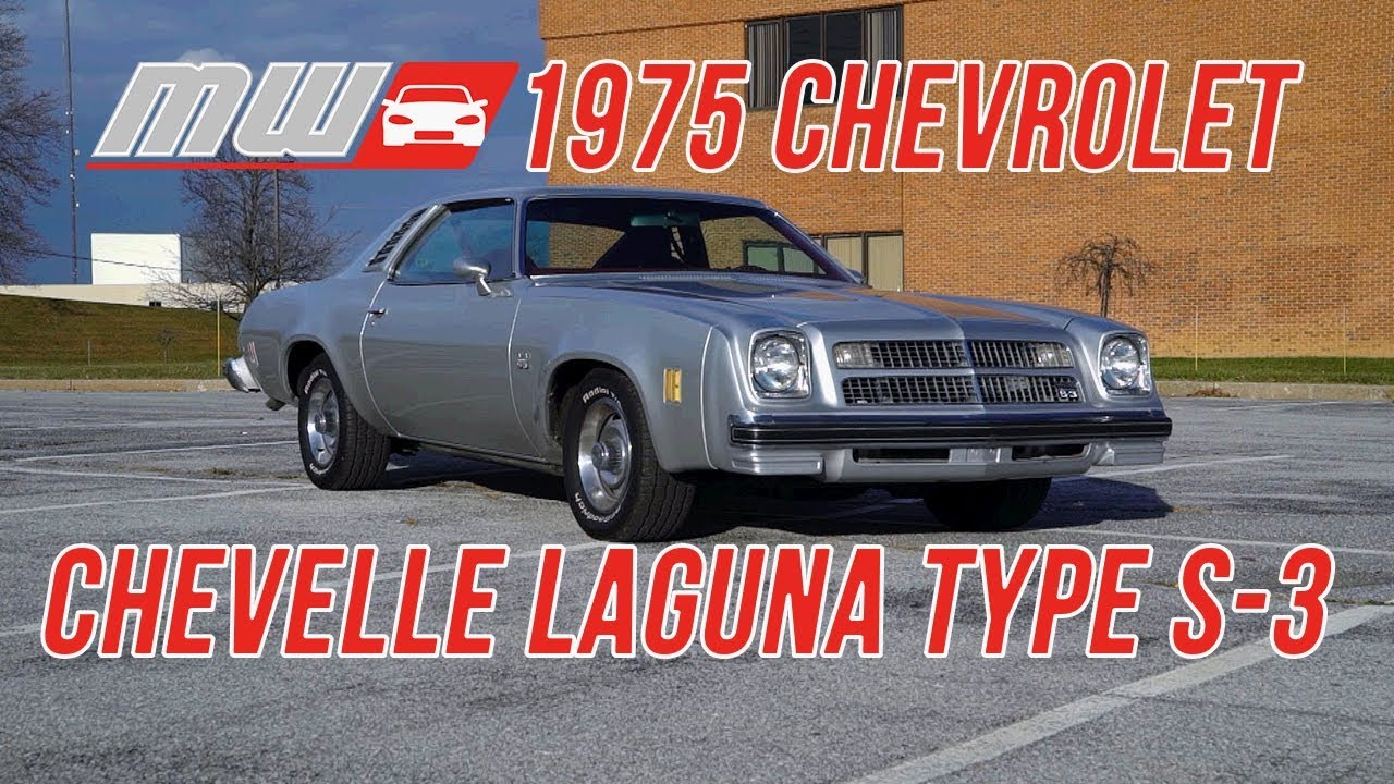 1975 Chevy Chevelle Laguna Type S 3 Last Gasp Muscle Car