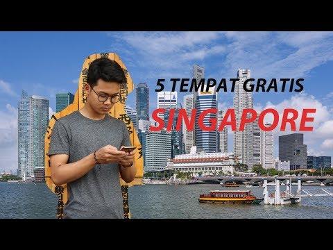 5 TEMPAT GRATIS DI SINGAPORE UNTUK SOLO BACKPACKER