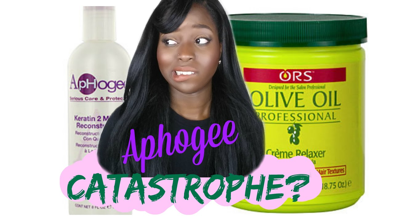 Aphogee 2 Step Protein Treatment After A Relaxer Youtube