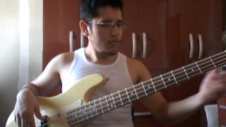 Hot Stuff Whitesnake Bass Cover.