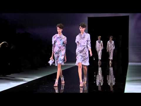 Giorgio Armani – 2014 Spring Summer – Womenswear Collection
