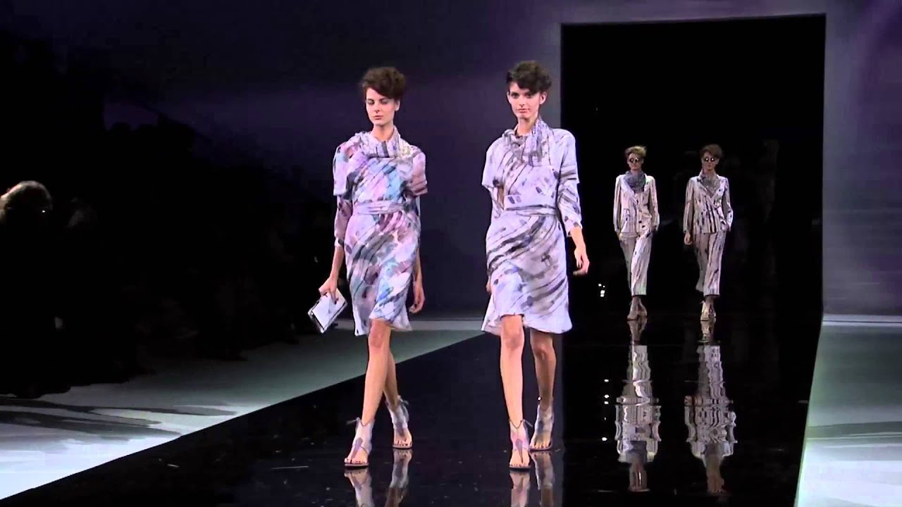 Giorgio Armani - 2014 Spring Summer - Womenswear ... Giorgio Armani Figurines