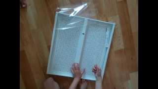 Гардеробная система ALGOT IKEA (сборка)(, 2014-10-23T12:22:30.000Z)