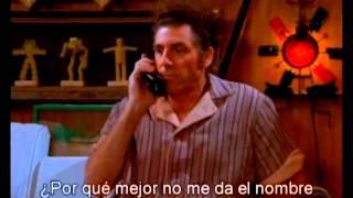 Repeat youtube video Kramer, The Movie Phone (Seinfeld S07-E08)