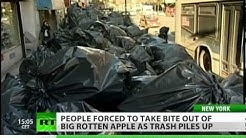 Big Rotten Apple: NY gags on garbage as waste mountains pile up