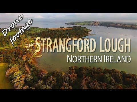 Strangford Lough, Northern Ireland. Drone Footage