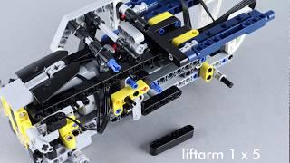 Lego Technic 42033 + 42034 + 42035 remote control mod building instructions