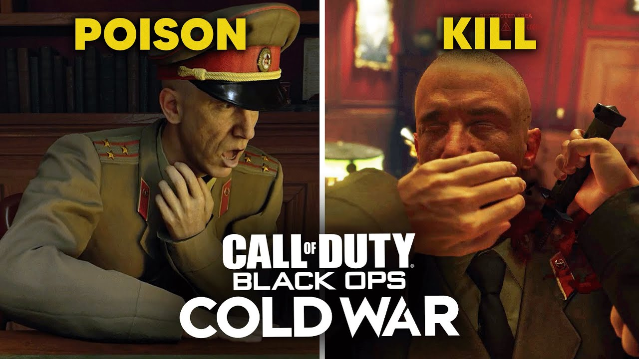 Poison Charkov vs Kill Charkov - CALL OF DUTY: BLACK OPS COLD WAR