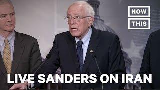 Bernie Sanders Discusses U.S. Conflict With Iran/Iraq   LIVE   NowThis