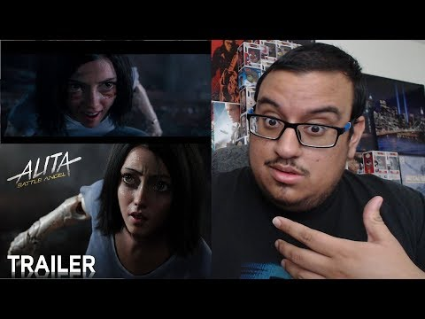 Alita: Battle Angel Official Trailer REACTION!!