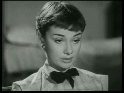 This Candid Screen Test Footage For Roman Holiday Made Audrey