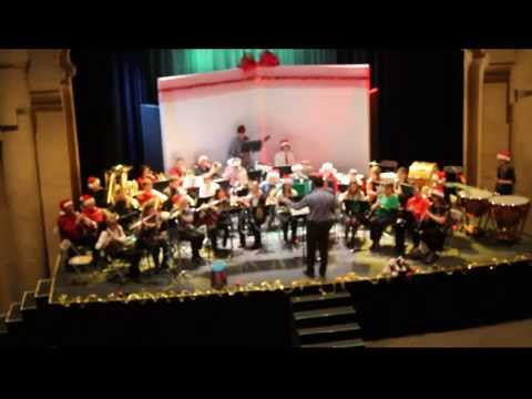 Faribault Area Community Band of the Paradise Center of the Arts Christmas Concert 2014