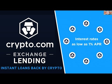 Crypto.com Lending Tutorial: Borrow Against Your Crypto, for an Instant Loan