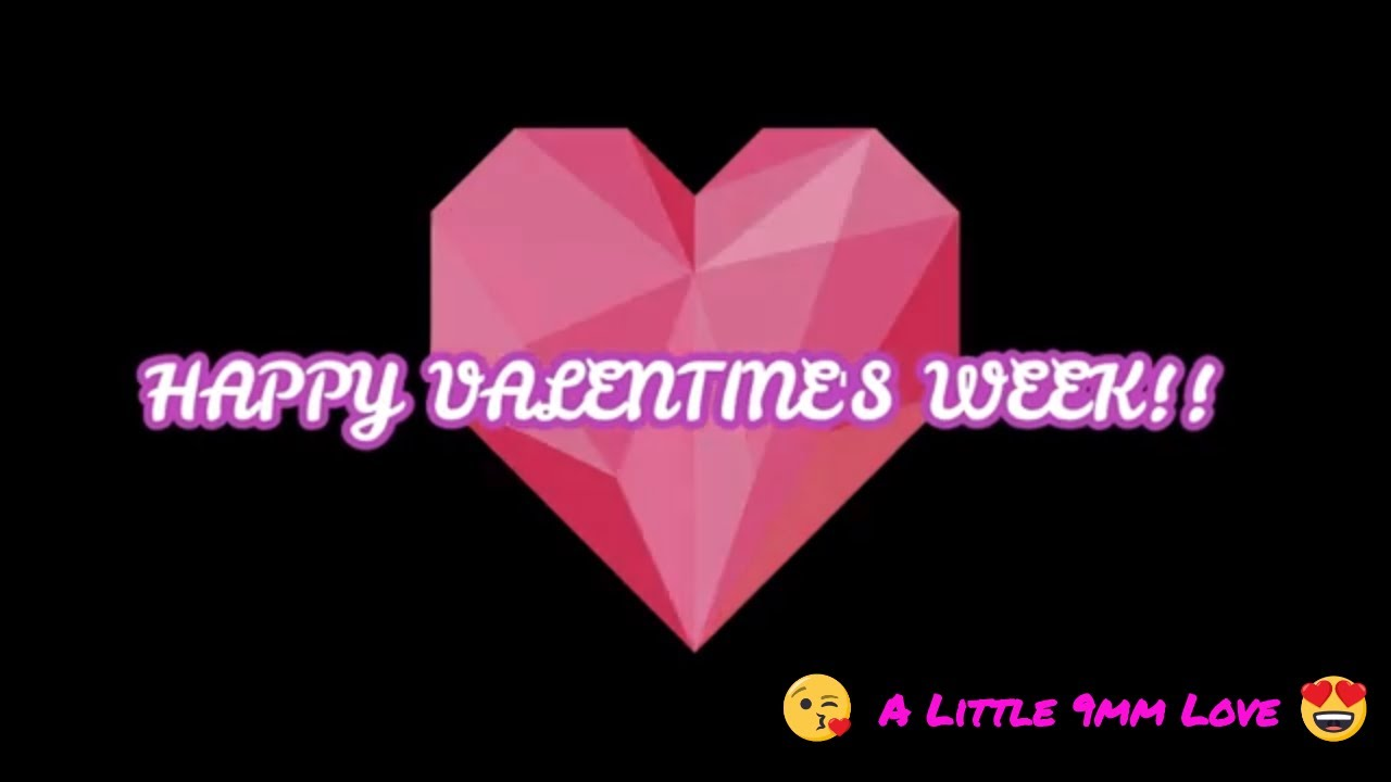 9mmMonday Happy Valentines Week