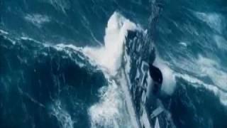 Rough sea - North Atlantic.wmv