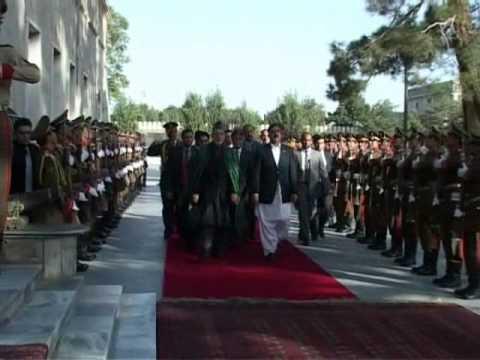 Mir Israrullah Zehri in Afghanistan.wmv