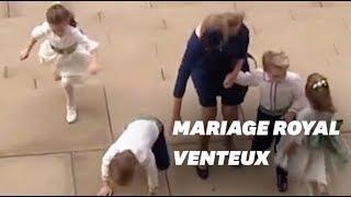 Le mariage de la princesse Eugenie a reçu un invité de marque: LE VENT