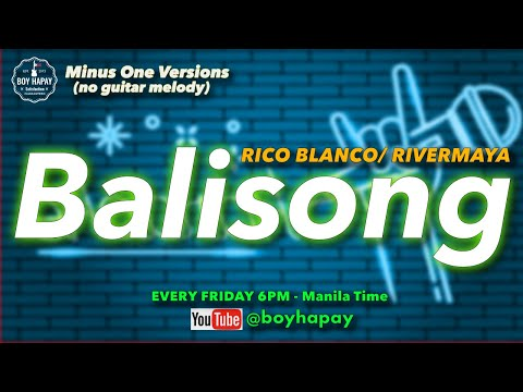 Rivermaya - Balisong Acoustic Minus One cover