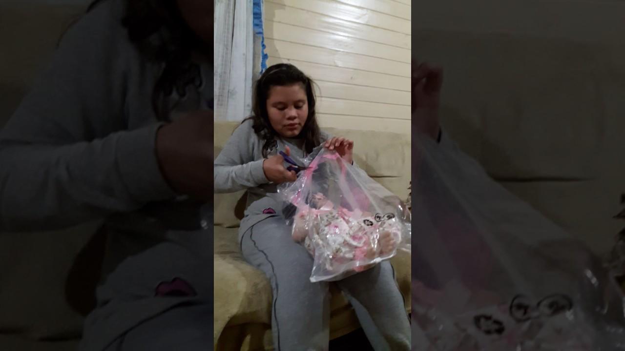 Chegada Da Minha Bebe Reborn Molde Victoria Youtube