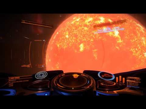 Elite Dangerous a trip to VY Canis Majoris
