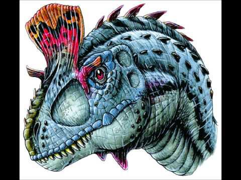 Sound effects: Cryolophosaurus
