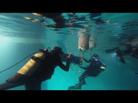 Подводные съемки фильма