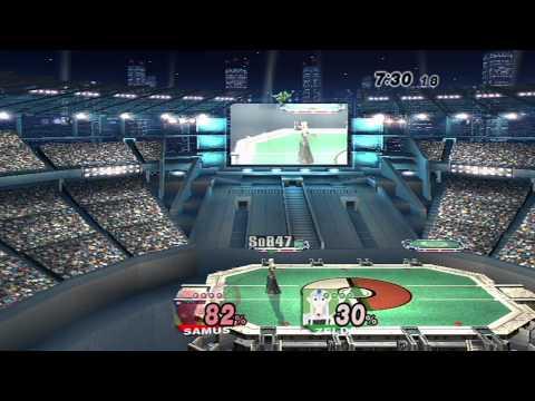 Brawl- 2.X MM quiKsilver (Samus) vs. Cadet (Bowser, Mario, Zelda)