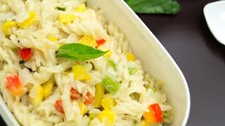 Pasta In White Sauce / Quick & Easy Indian Style | Kids Lunch Box Special