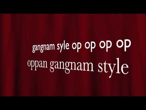 Gangnam style lyrics