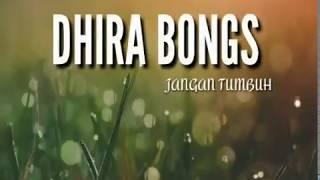 Dhira Bongs - Jangan tumbuh (unofficial Lirik)