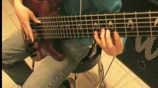 Bass Yamaha 6 strings test