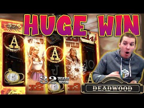 HUGE WIN On Deadwood Slot - £14 Bet!