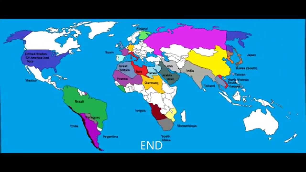 World War 3 Simulation Allies X Axis - YouTube