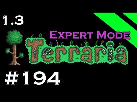 Let's Play Terraria 1.3 Expert Mode - Episode 194 - Present Time