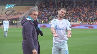 Скрытая камера «Зенит-ТВ» на выездном матче против «Арсенала»
