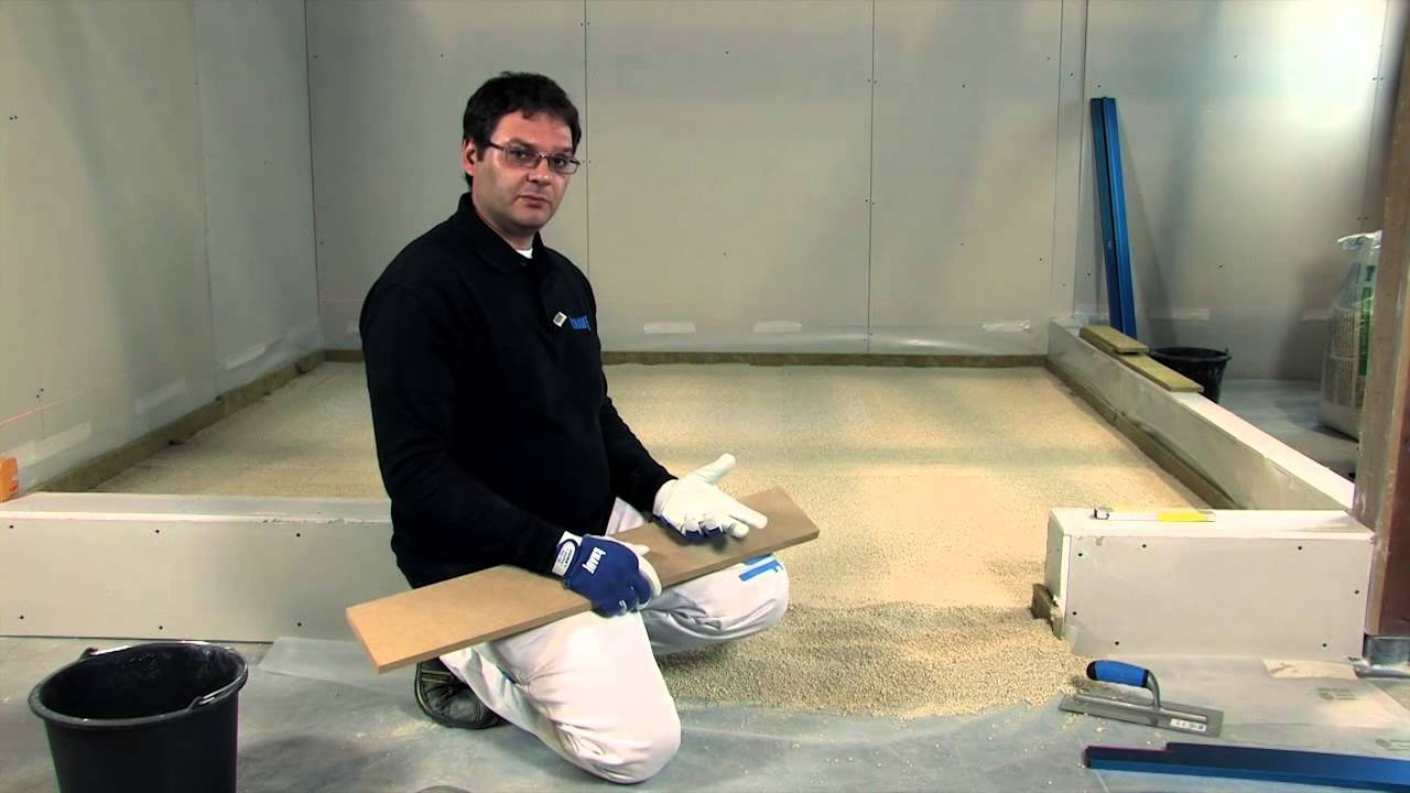 Massetto isolante granulare a secco naturalmentenergia
