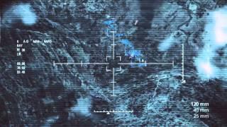 Ace Combat Assault Horizon - AC-130 Spooky Gunship Gameplay