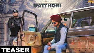 Patt Honi ( Teaser) | Gora Gill | Deep Jandu | White Hill Music | Releasing on 24 May